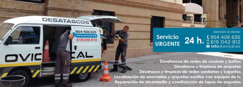 Desatascos urgentes Sevilla