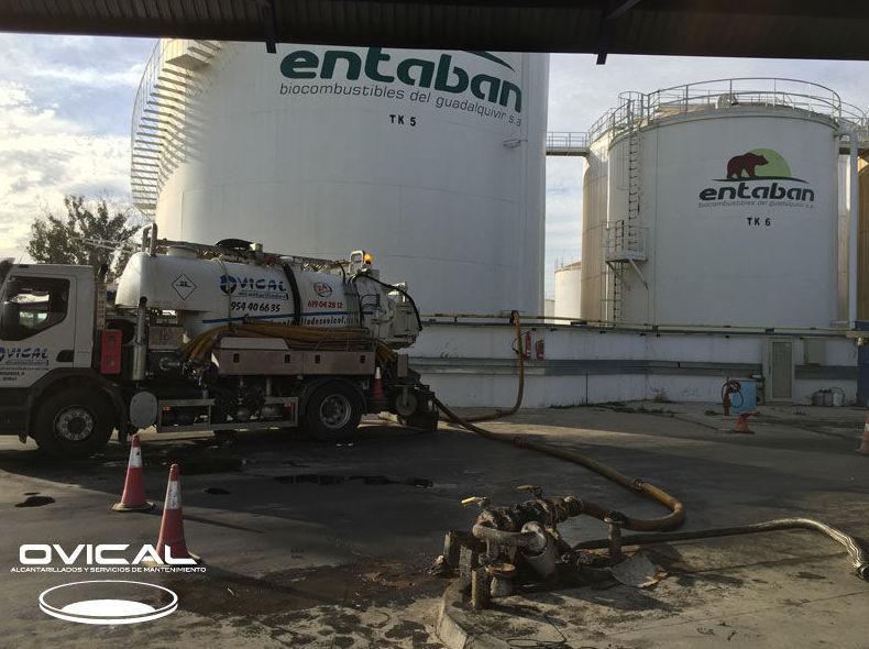 Limpieza de Silos en Fábrica de Biodiesel Entaban