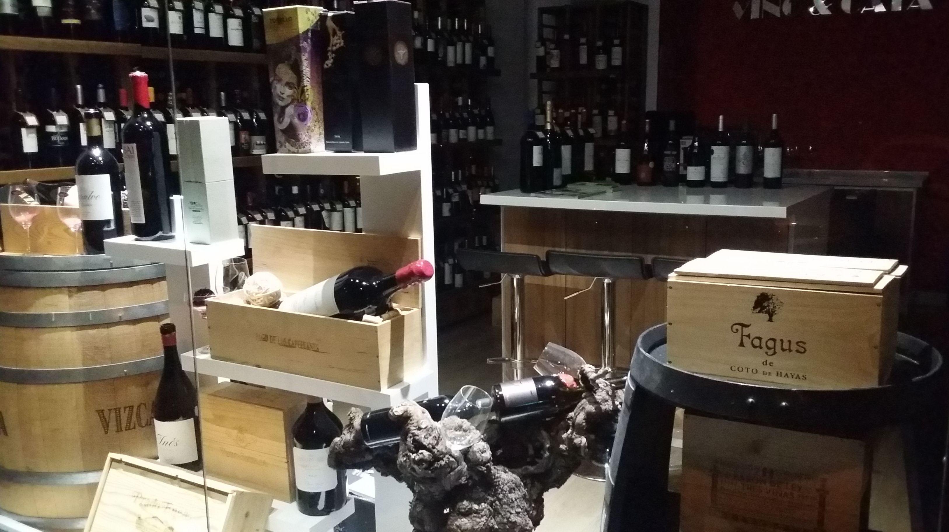 Catas de vino en Madrid centro