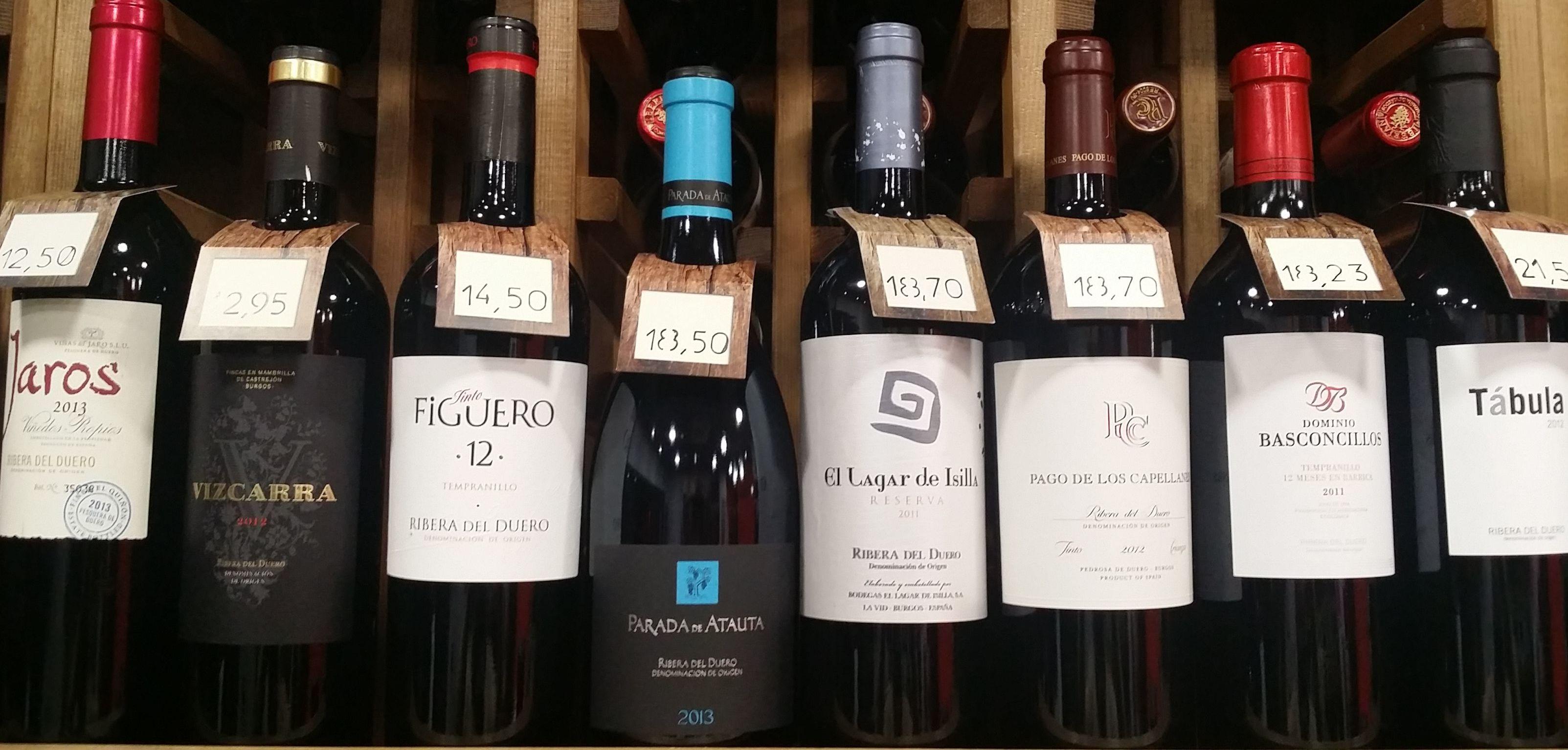 Ribera del Duero: Bodegas por zonas de Vino & Cata