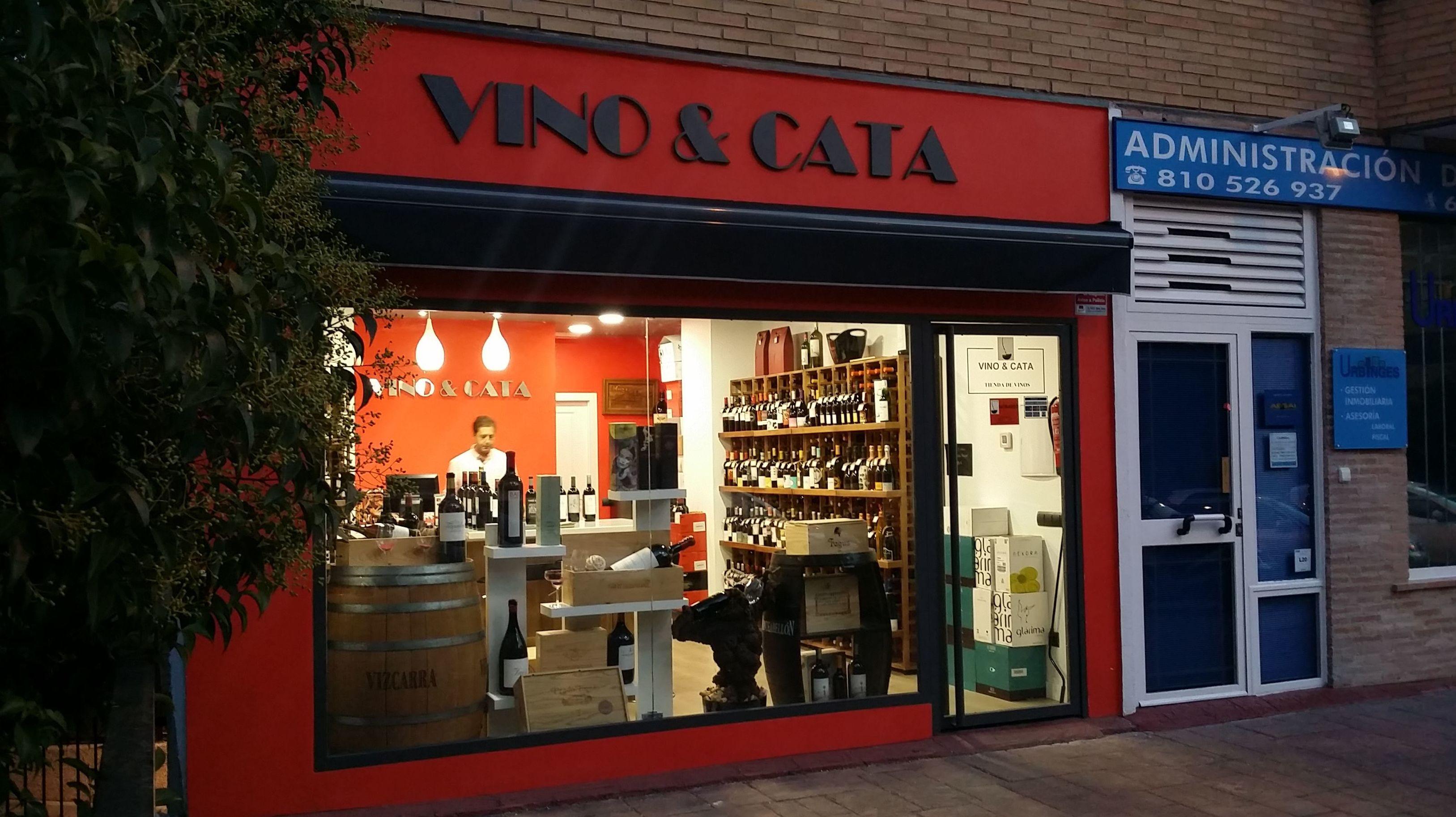 Vinoteca en Arganzuela