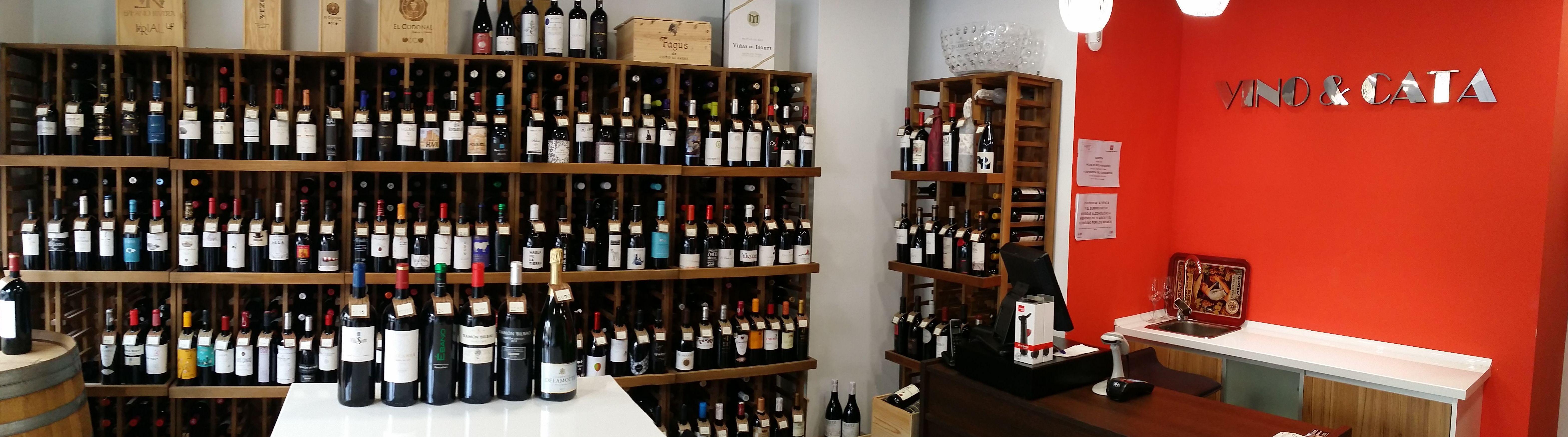 Gran variedad de vinos de calidad en Arganzuela