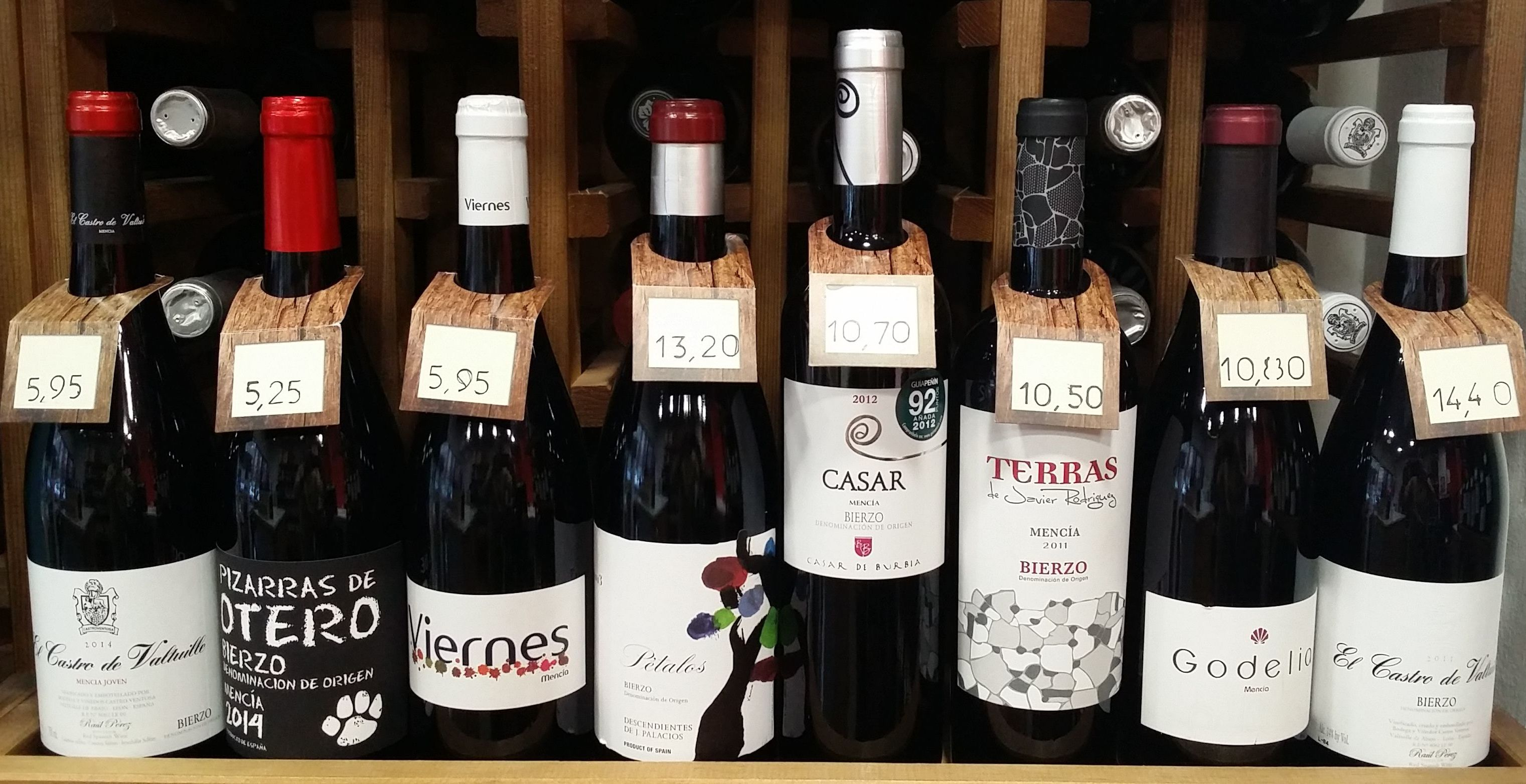 Bierzo: Bodegas por zonas de Vino & Cata