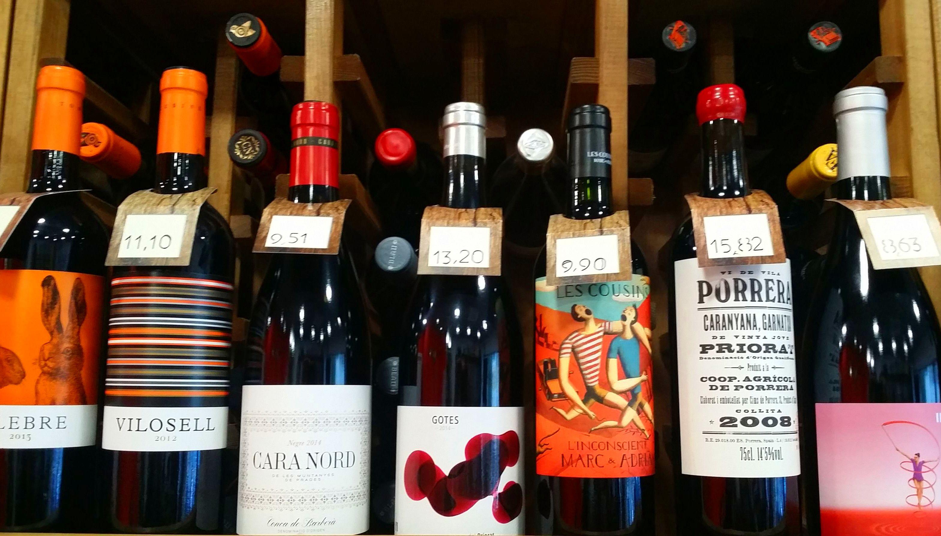 Cataluña: Bodegas por zonas de Vino & Cata