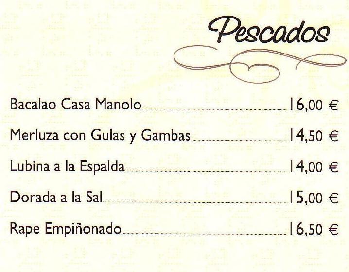 Foto 11 de Cocina tradicional en Valladolid | Casa Manolo Restaurante