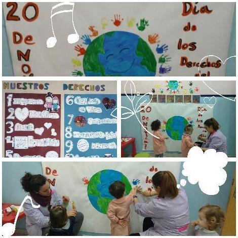 educación en escuelas infantiles en Valdemoro Pequeñajos