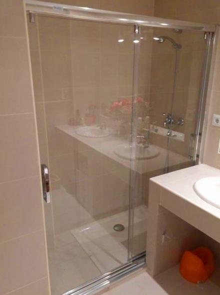 mamparas, baño, ducha