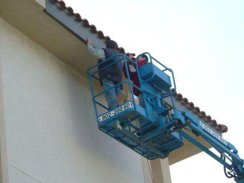 Recubrimientos fachadas: Servicios y Trabajos de Aluminis Jordi