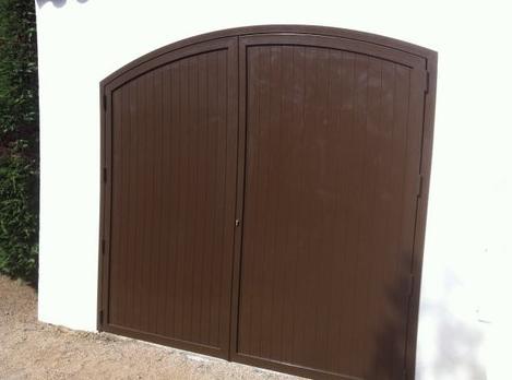 Puertas de doble hoja