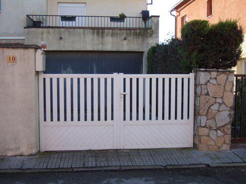 Puertas garaje: Servicios y Trabajos de Aluminis Jordi