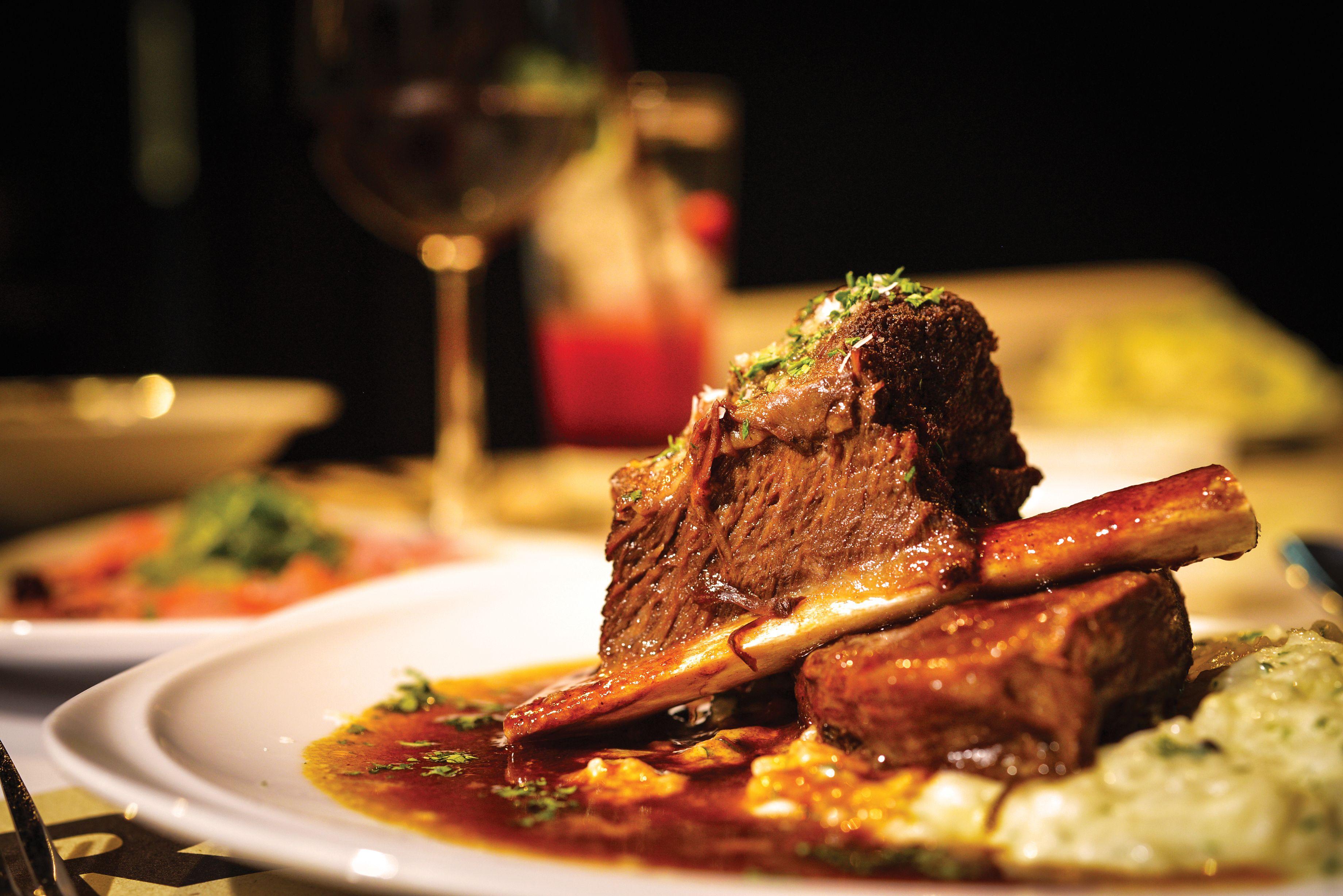 Carnes: Carta y menús de Restaurante de La Santa