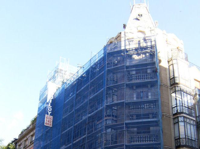 Alquiler, venta e instalación de andamios en Toledo, Segovia, etc.