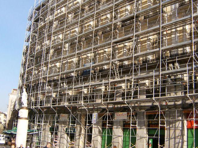 Alquiler de andamios en Madrid