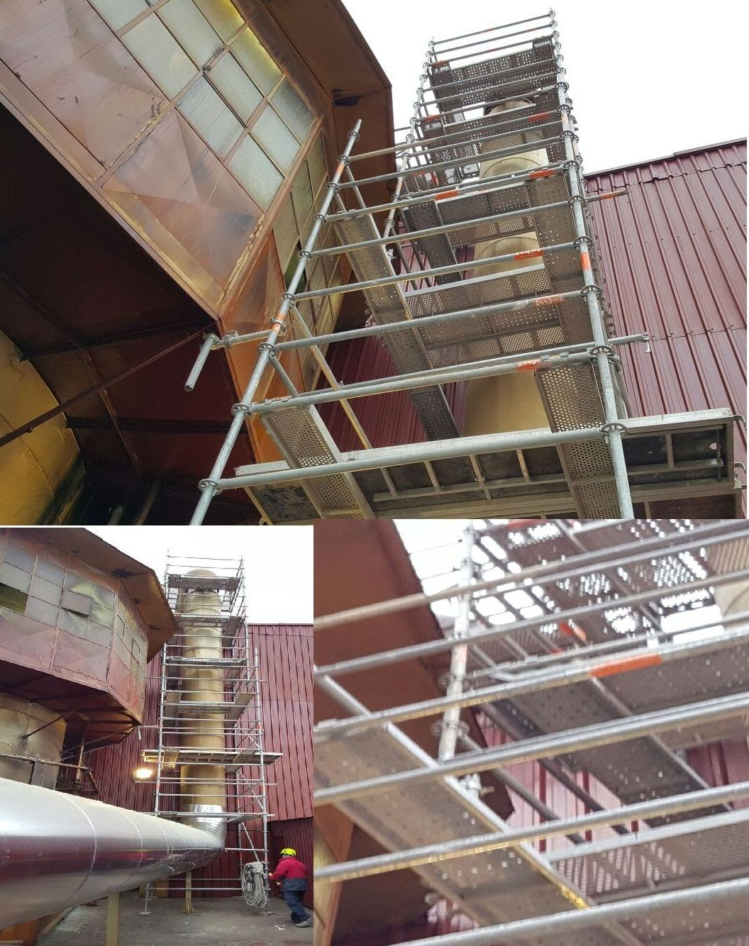 Montaje y Desmontaje de andamio en industria