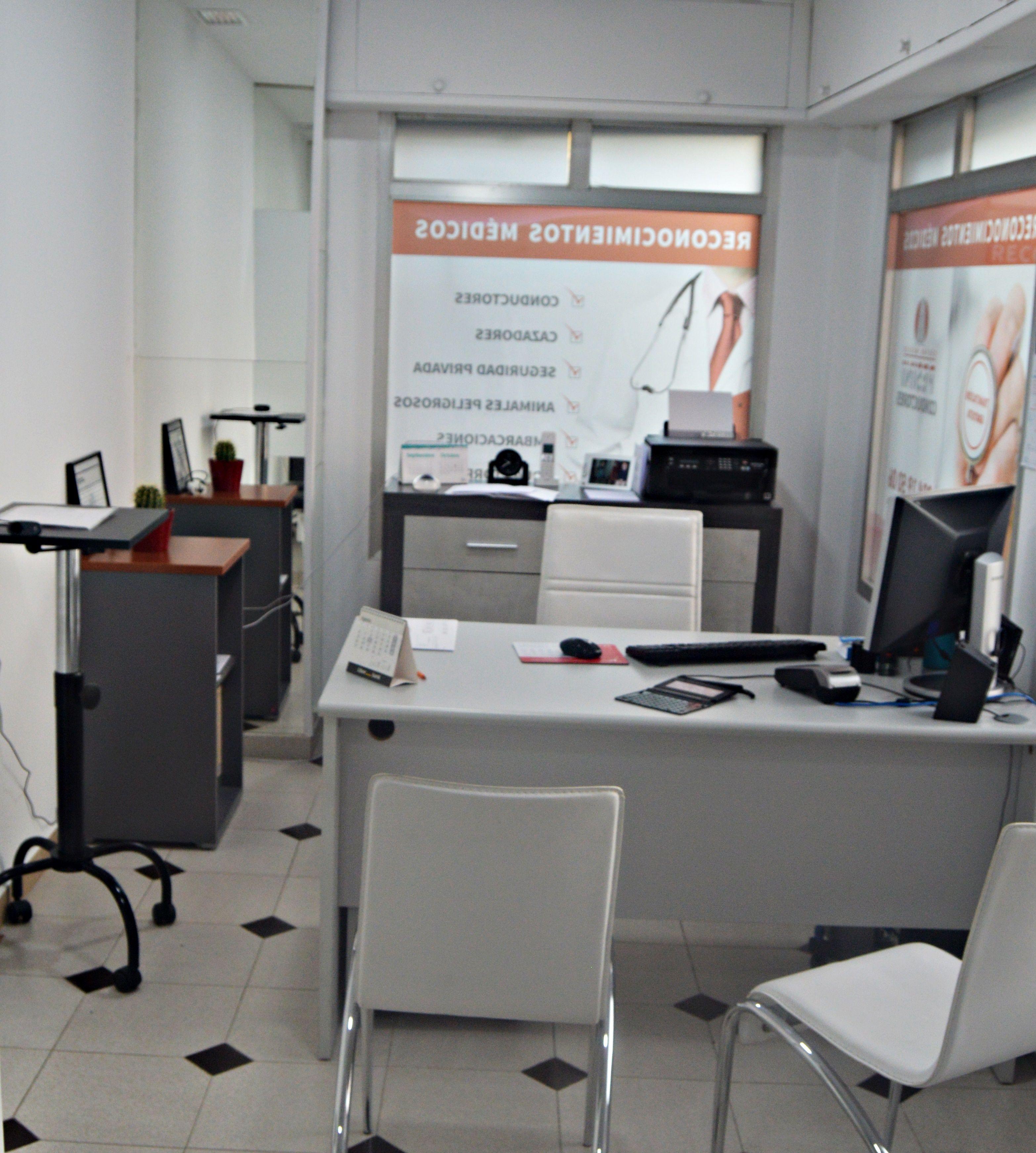 Recepción Centro Médico Pesini