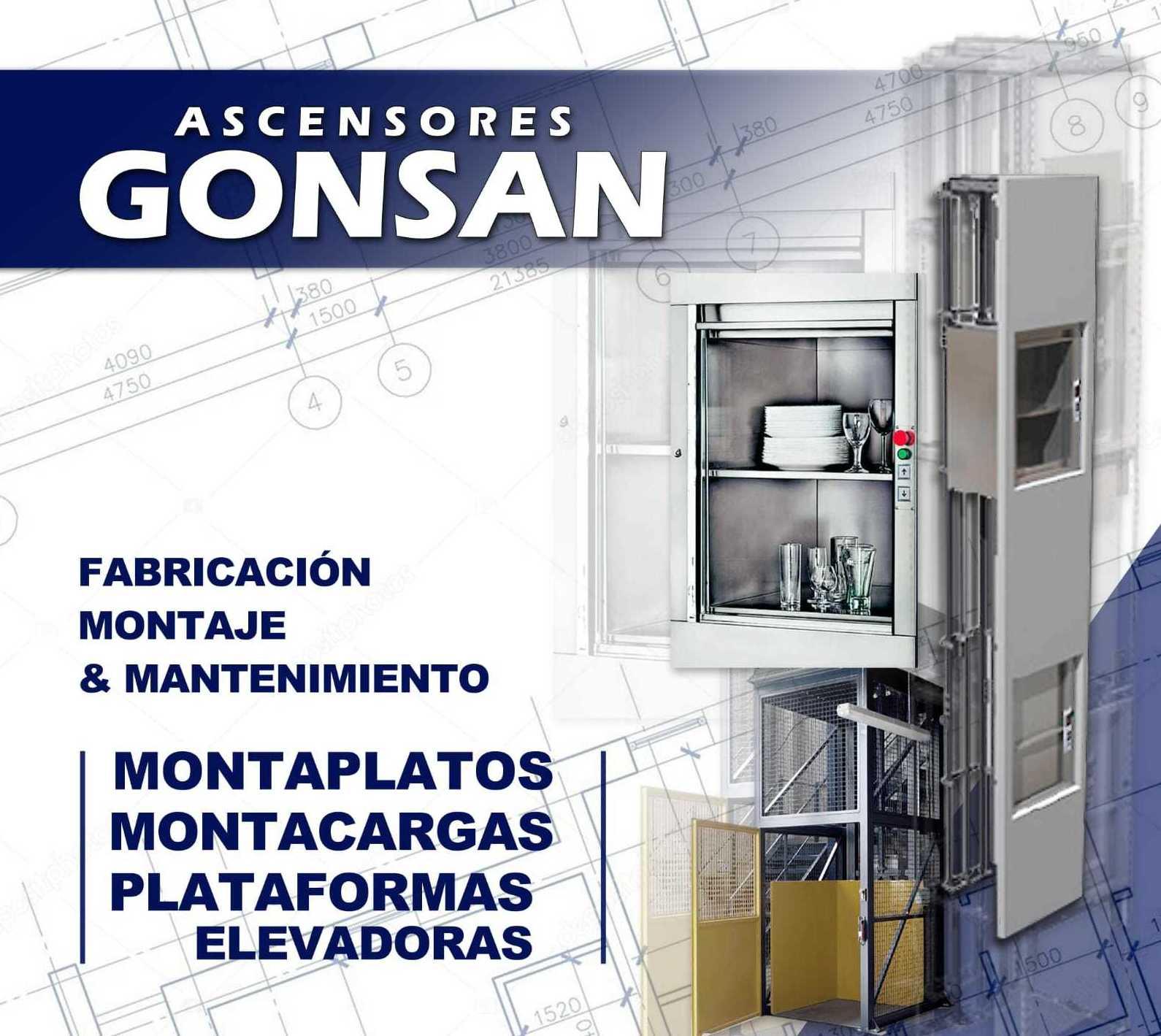 Foto 1 de Ascensores y montacargas en    ASCENSORES GONSAN