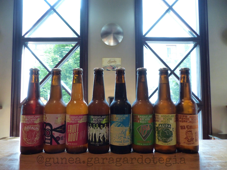 Cervezas de importación en Hernani