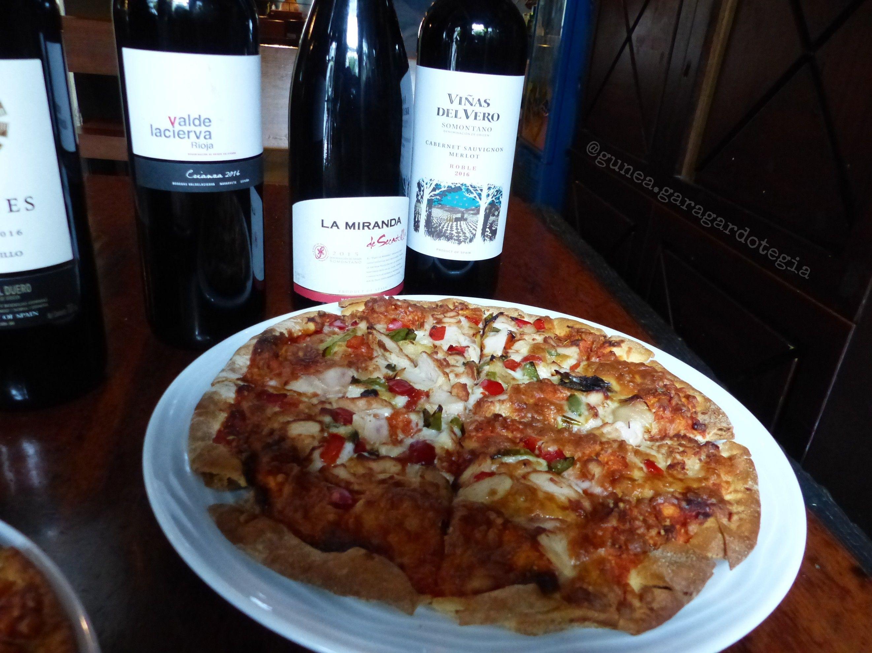 Pizzas: Nuestra carta de Cervecería Gunea