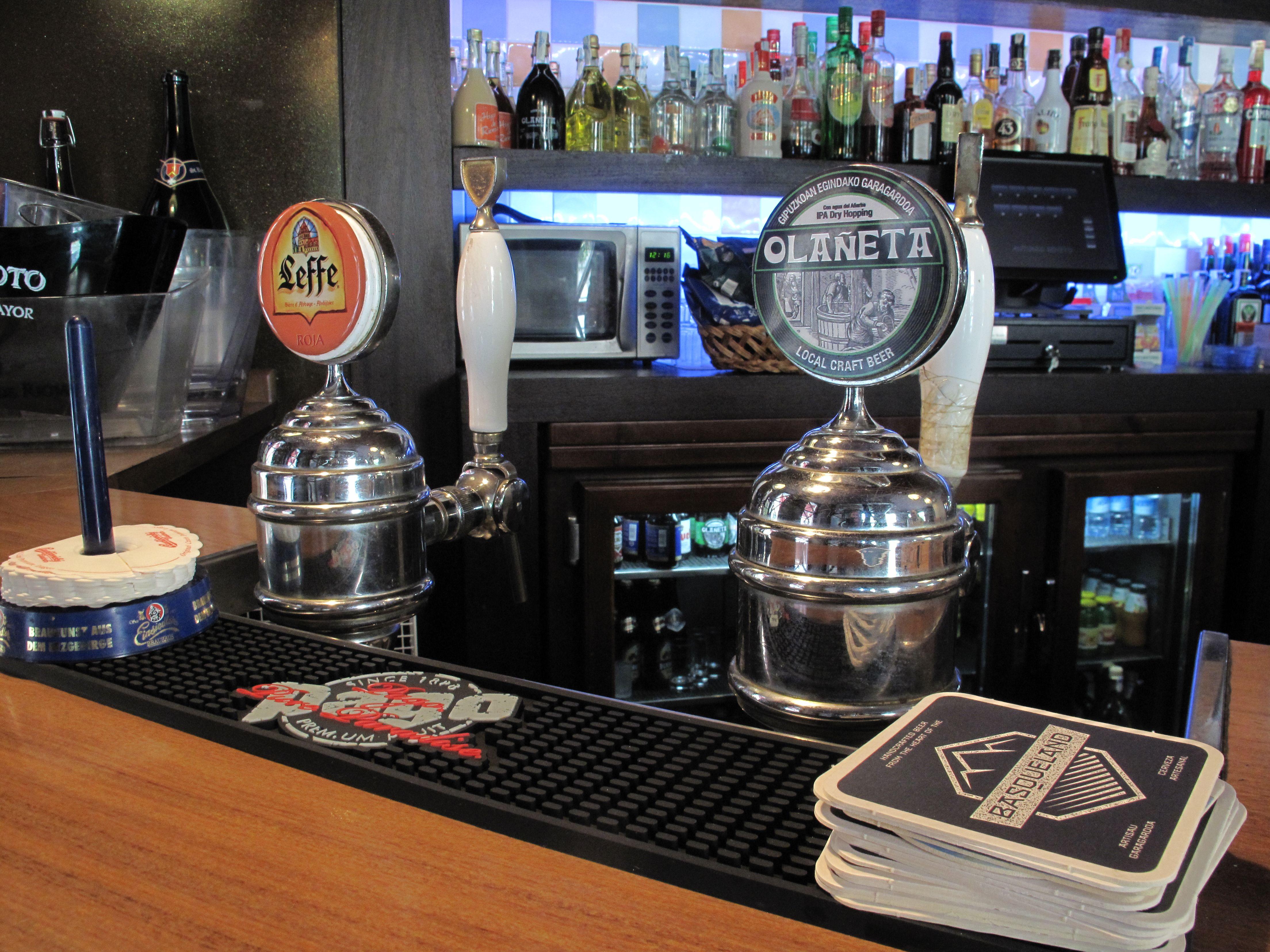 Grifos de cerveza Cervecería Gunea