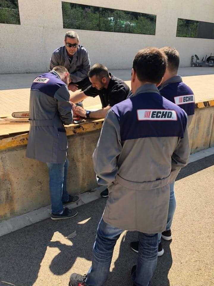 Profesionales de los desbroces en Valverde del Camino