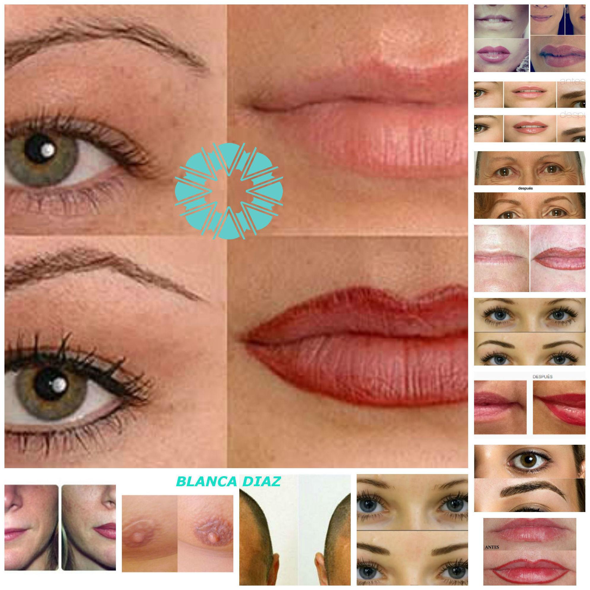 Micropigmentación:maquillaje permanente