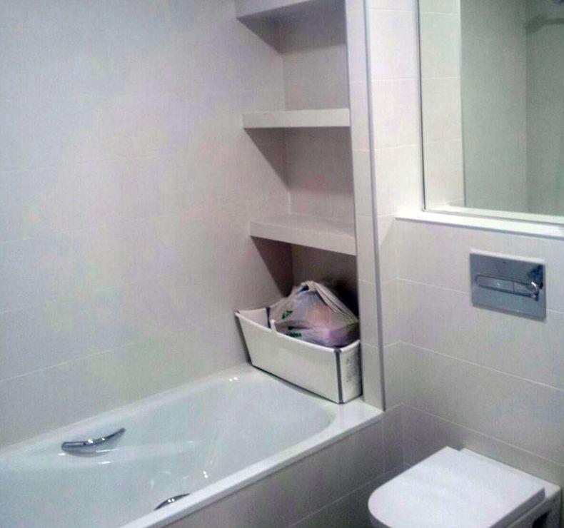 Reforma de baño con bañera