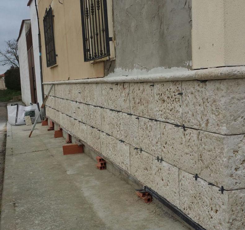 Reforma de fachada en Palencia