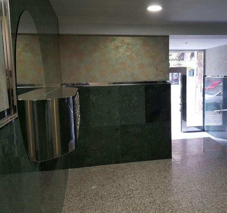 Portal reformado en Palencia