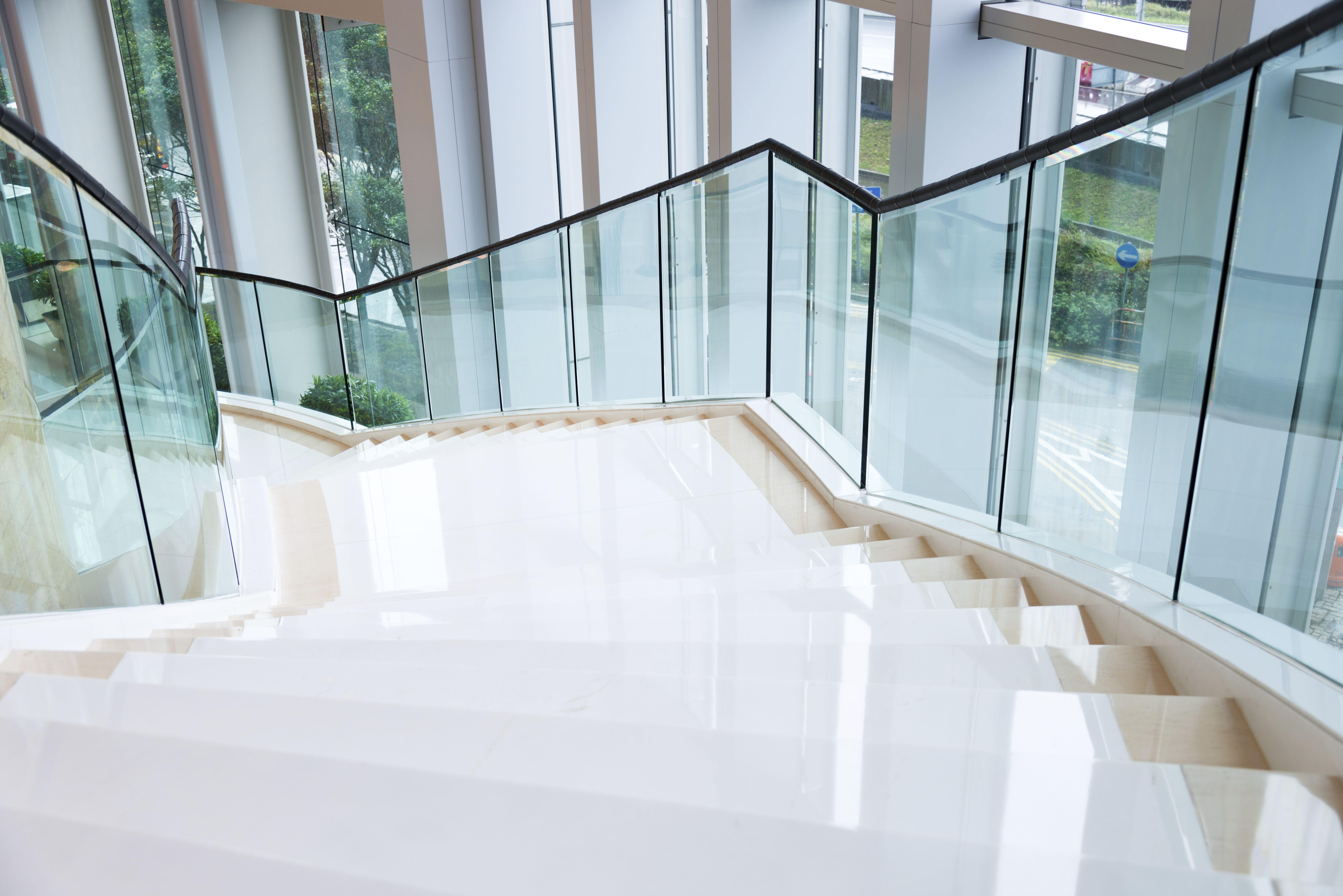 Cristalería Olinda, trabajos de vidrio