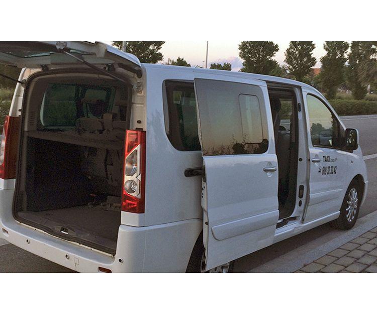Servicio de taxi para hospitales