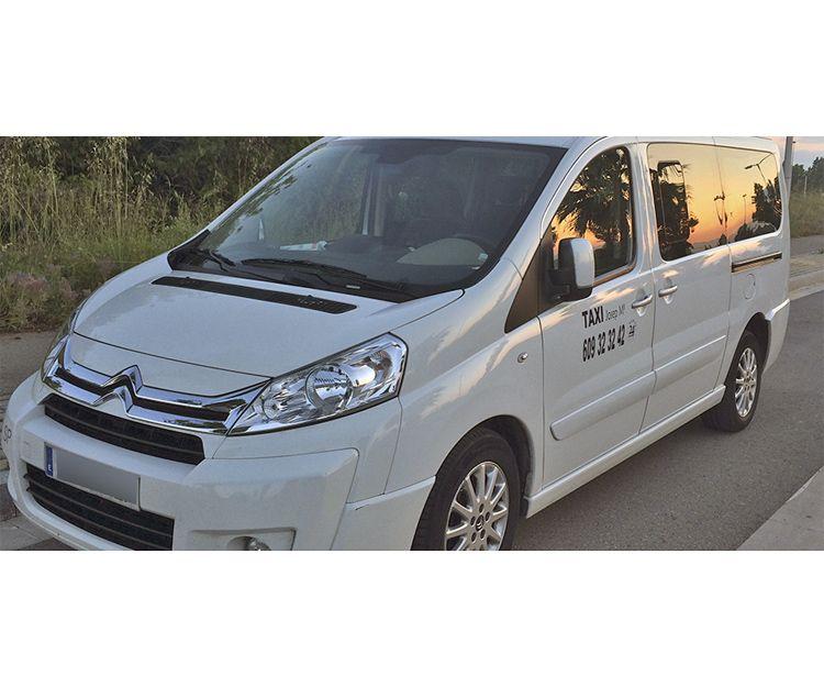 Servicio de taxi para particulares