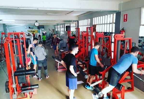 Sala de musculación en Mataró