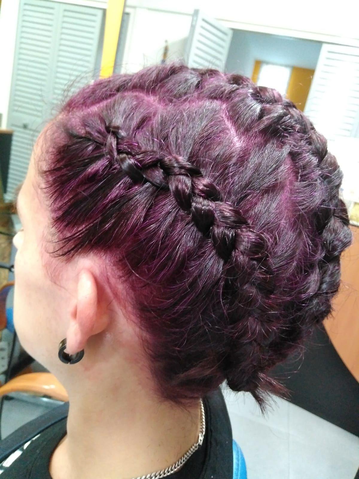 Color y peinado en peluquería en Vitoria
