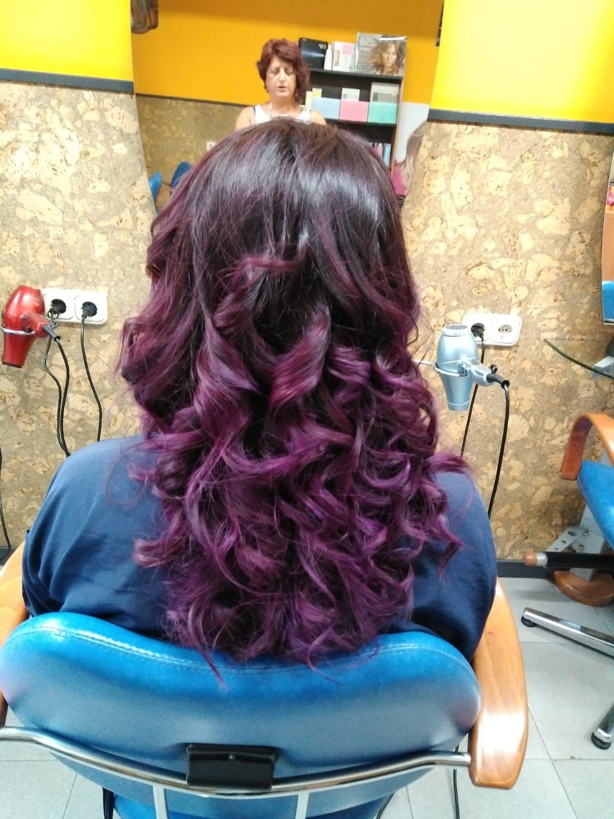 Color, corte y peinado: Servicios y tratamientos de Peluquería Udaberri