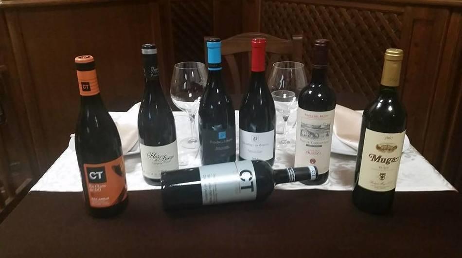 Carta de vinos selectos