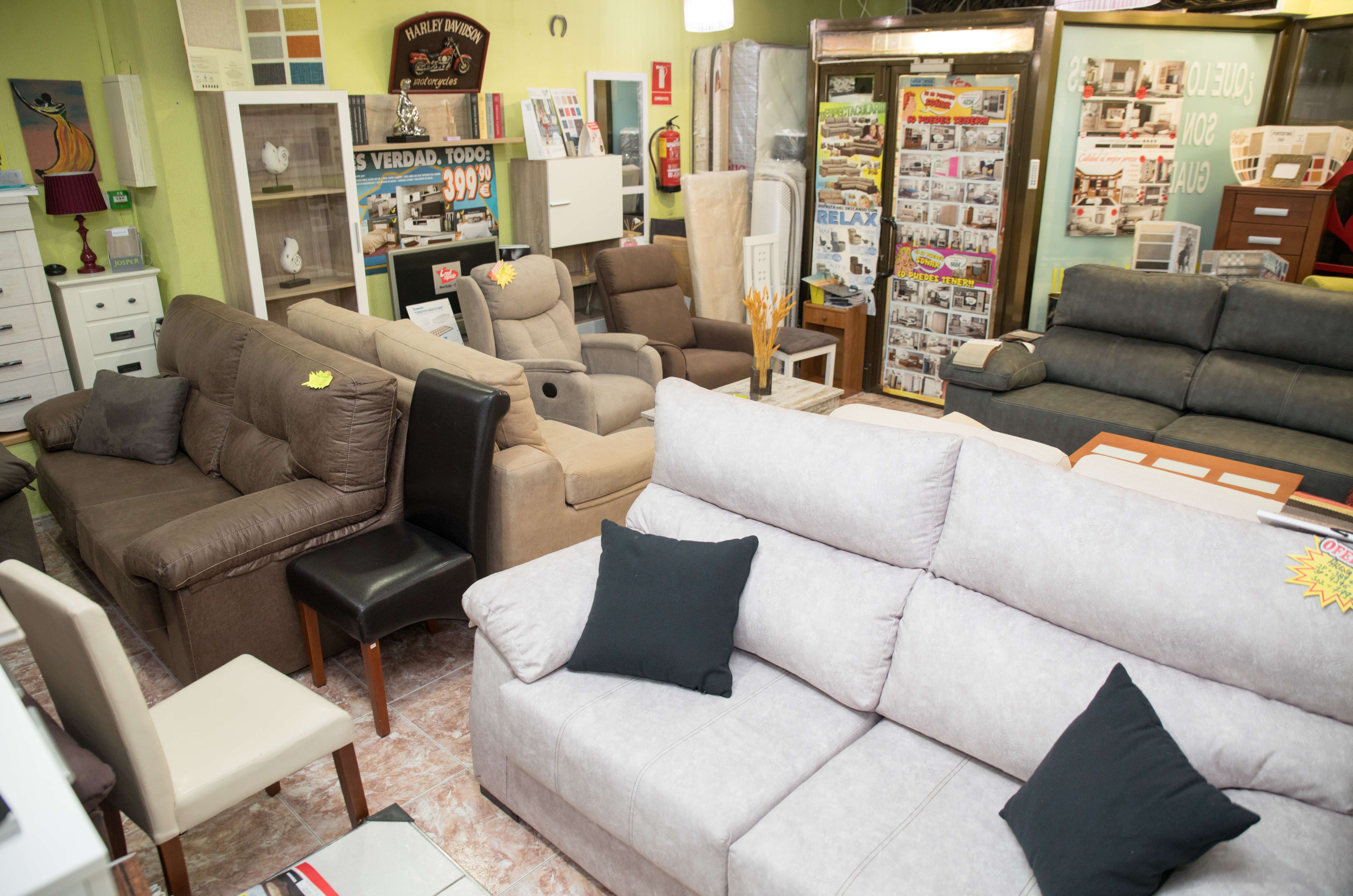 Tienda de muebles y artículos de descanso en Guadalajara