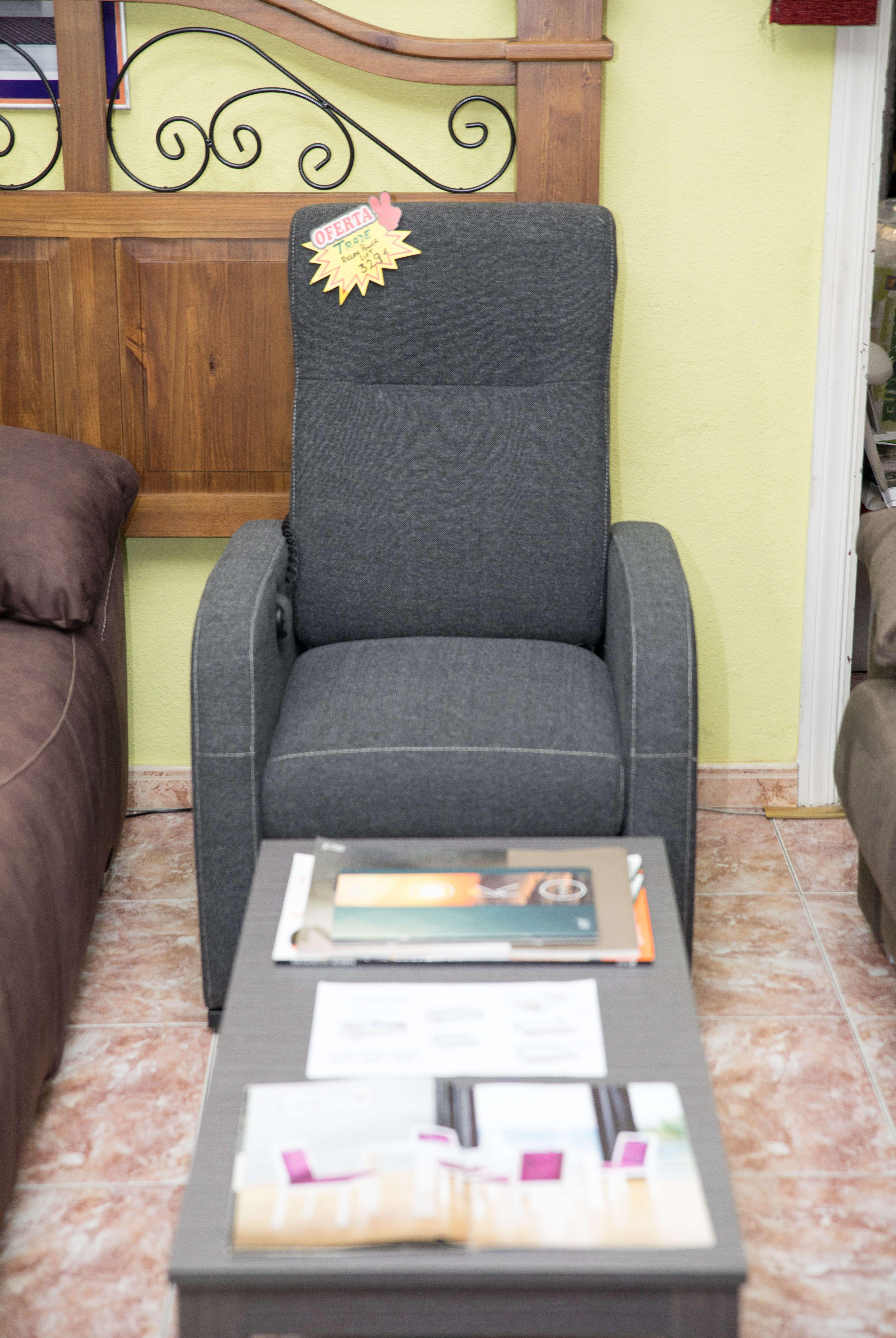 Todo en sillones y sofás en Colchonería Castilla