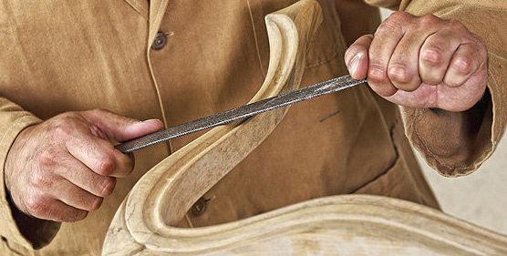 Carpintería de madera y ebanistería en general