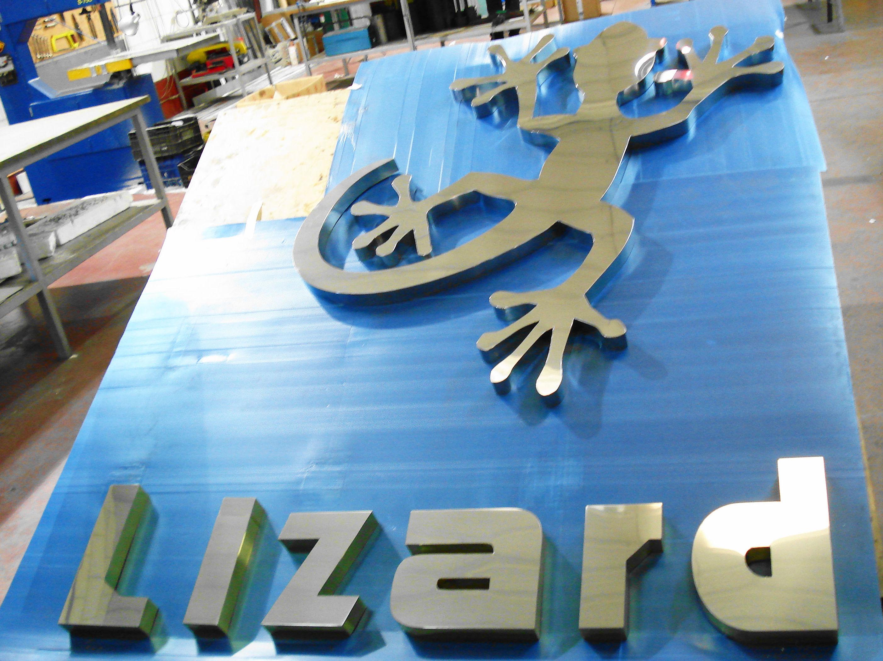 Fabricación de letras corpóreas en Madrid sur