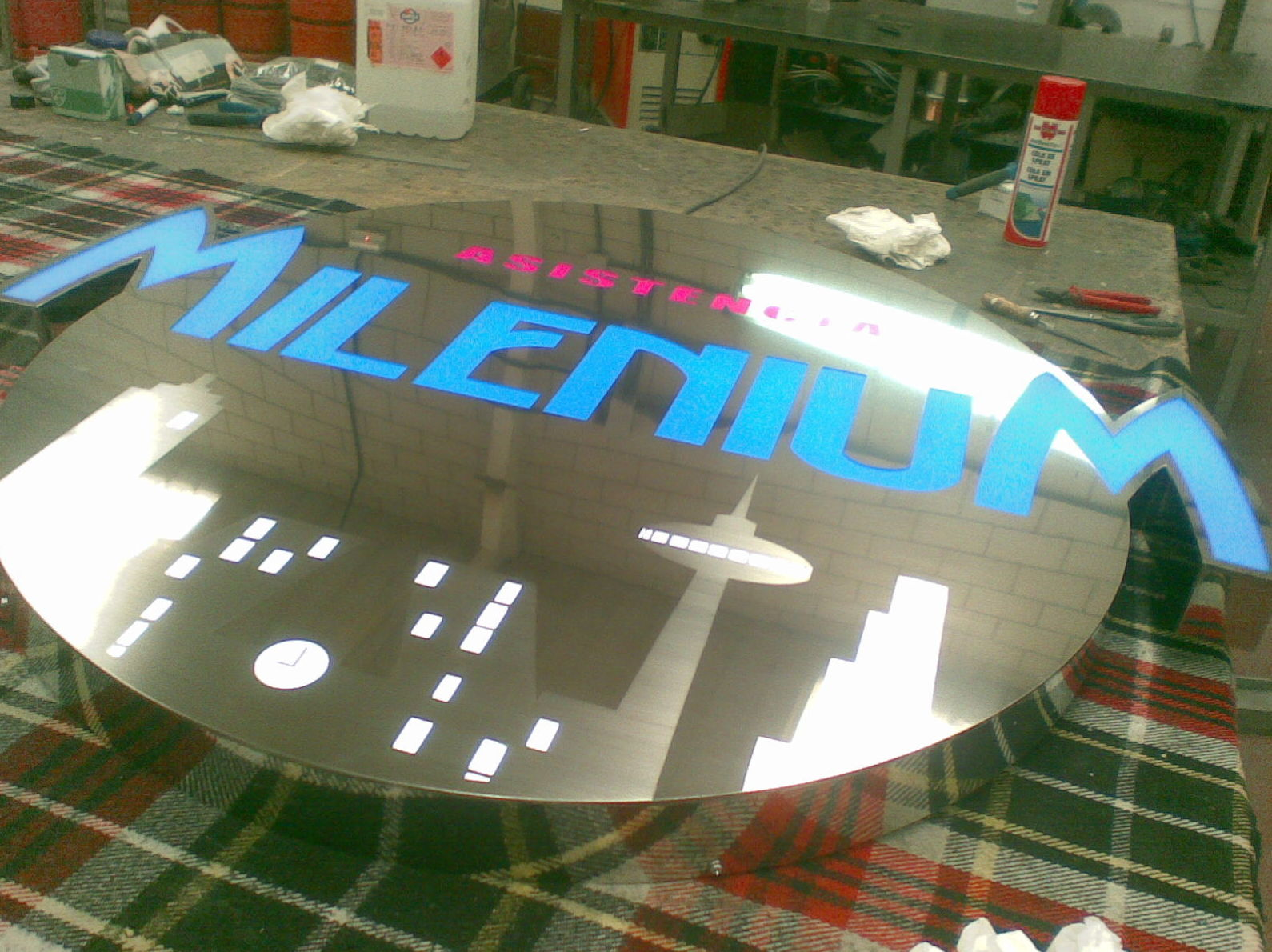 Fabricante de rótulos luminosos en Valdemoro