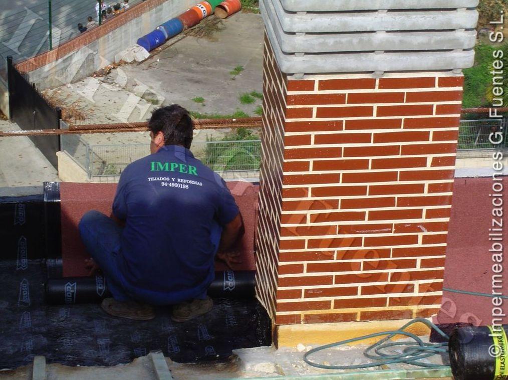 Reparaciones en tejados