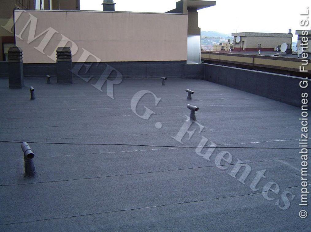Impermeabilización de cubiertas planas