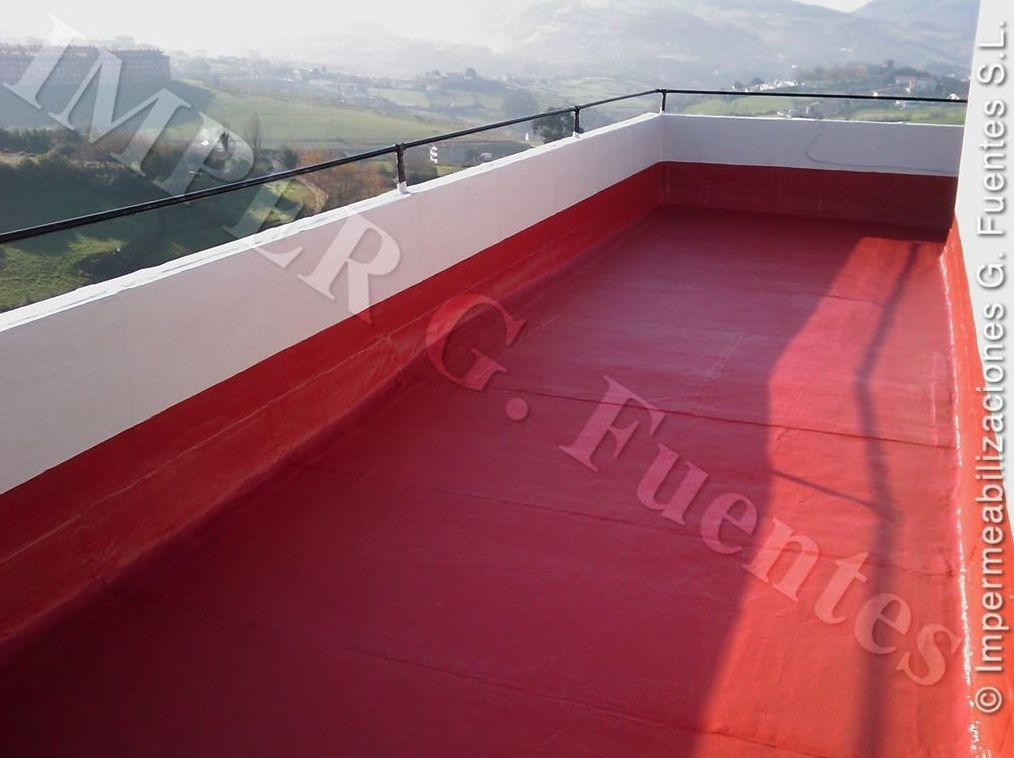Impermeabilización de terrazas y balcones