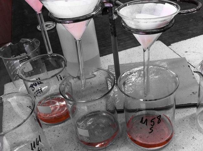 Ensayos químicos en suelos y aguas