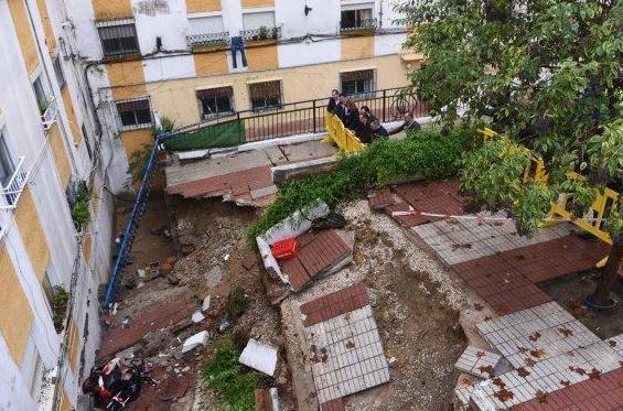 Daños provocados por las lluvias el pasado 4 de diciembre