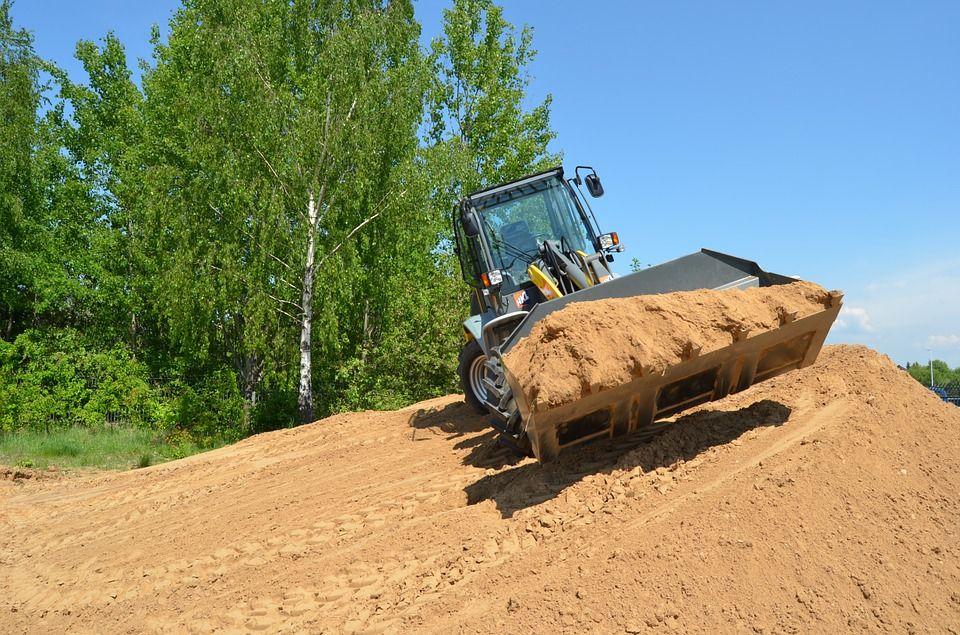 Transporte de material de construcción