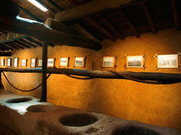 Fotografías antiguas de las labores del campo en nuestro museo
