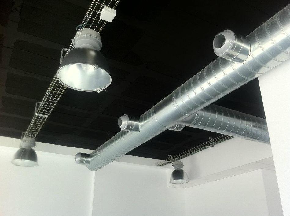 Conductos de ventilaci n en mallorca msg conductos y - Conductos de chapa ...