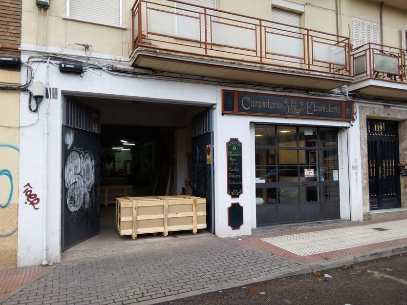 Carpintería y ebanistería en Madrid
