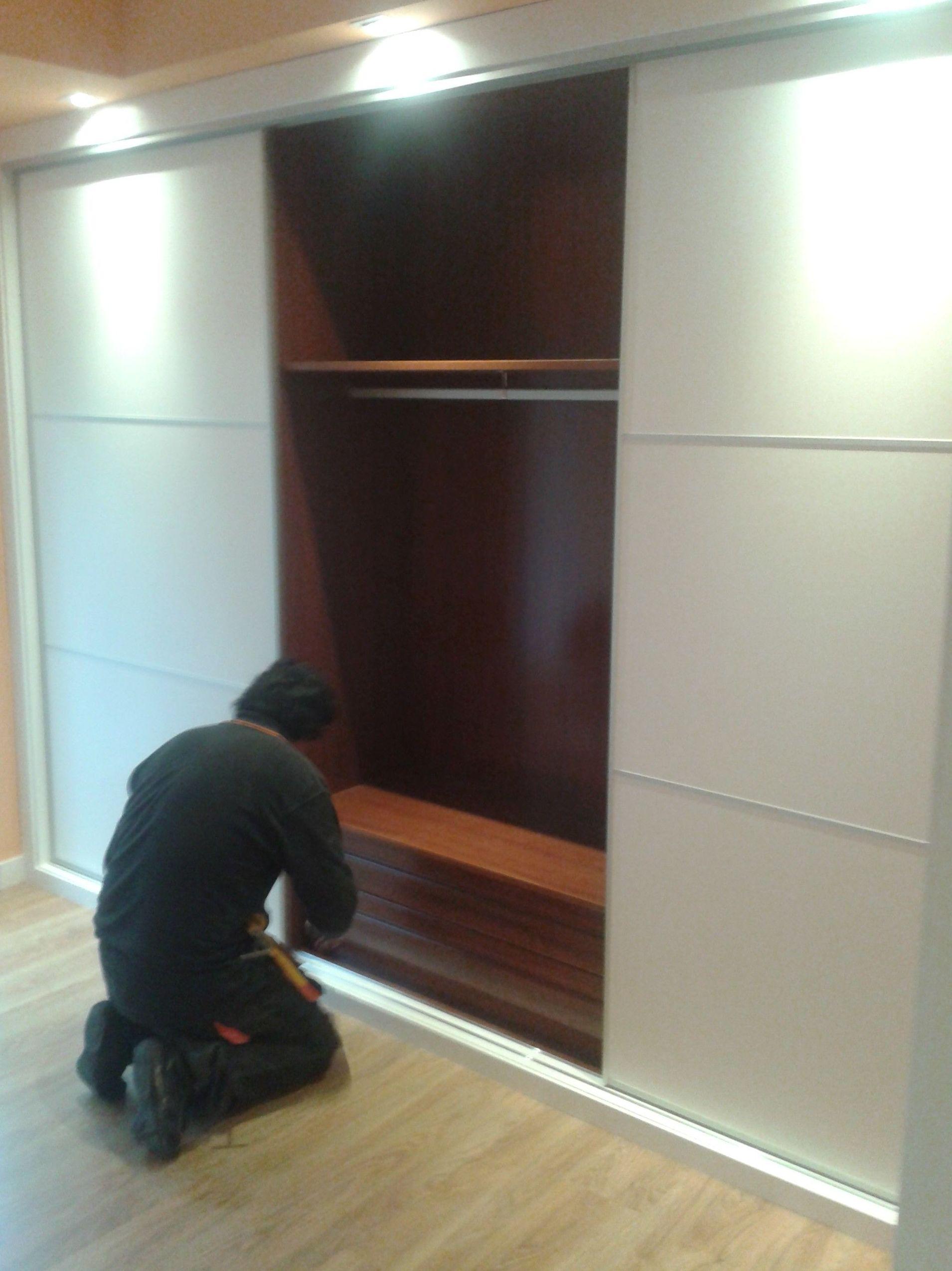 Instalación de armarios en Madrid